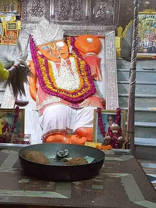 famous temples in Jaipur - Khole Ke Hanuman Ji
