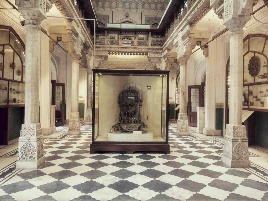 albert hall museum inside