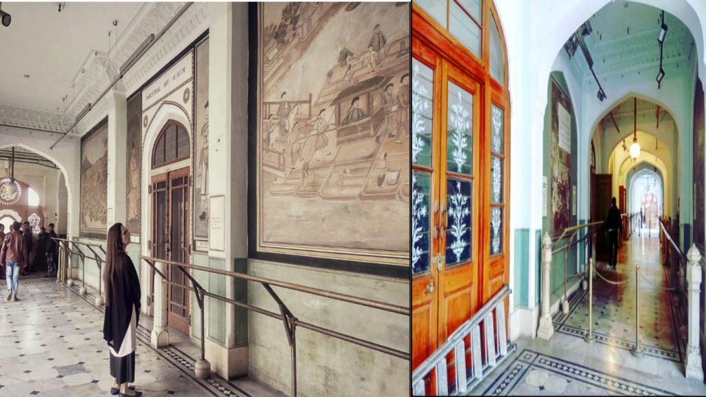albert hall museum jaipur inside