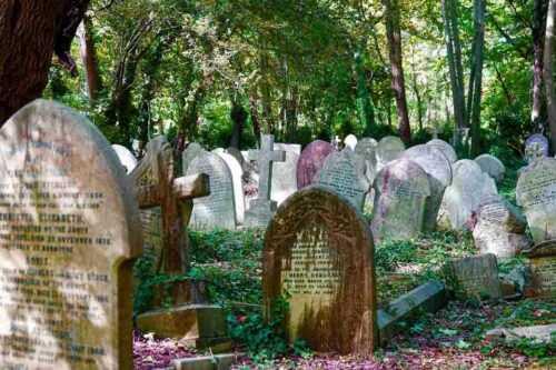 Karl Marx cemetery
