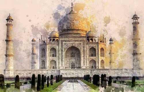 Agra home of taj mahal