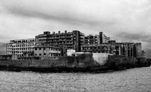 Hashima Island haunted place