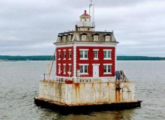 New London Ledge Light House i