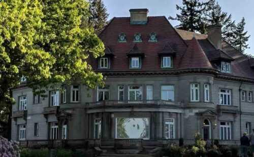 Pittock Mansion haunted