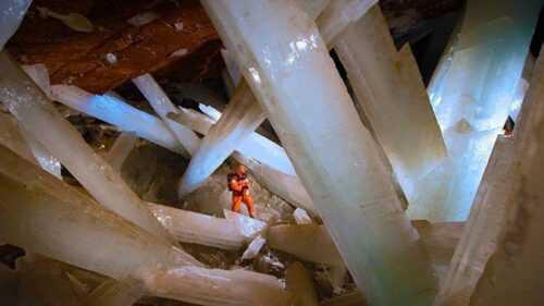 Crystal Cave Naica mine Mexico