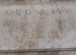 Shugborough inscription