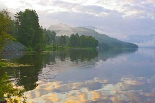 Lake-Teletskoye