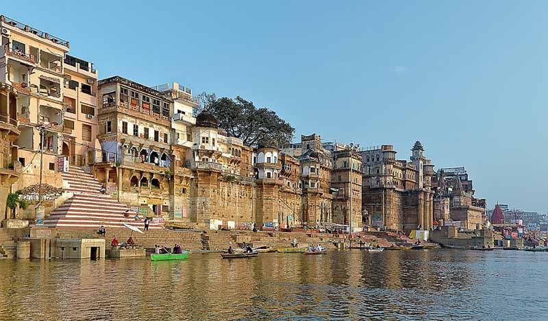 Varanasi Uttar Pradesh spiritual places for holiday