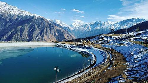 Auli Artificial Lake Places to Visit in Auli