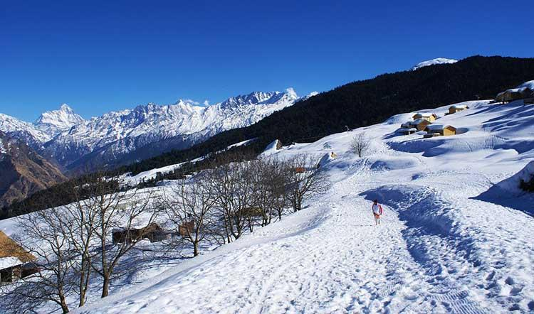 Auli Tour Plan In Weekend