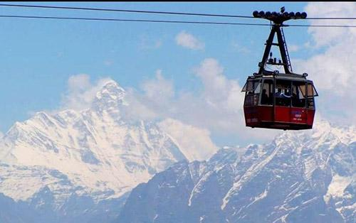 Auli ropeway Places to Visit in Auli