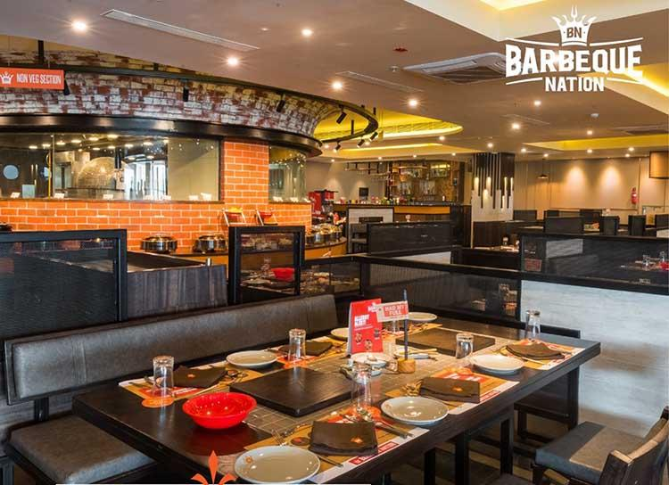 Barbeque Nation Food in Chandigarh