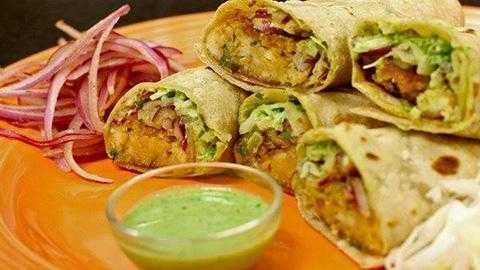 Kathi Roll Jaipur Street Food