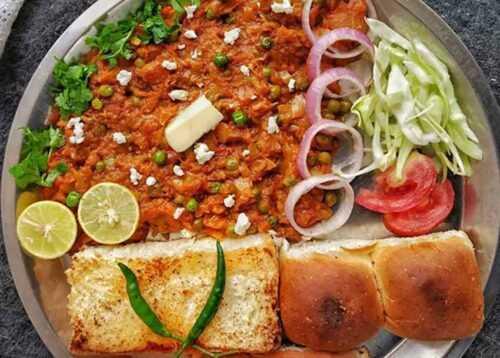 Pav Bhaji Jaipur Street Food