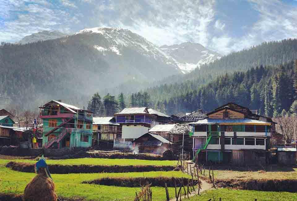 Pulga Village  Places to Visit in Kasol