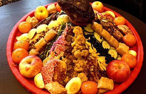 Samay baji  Nepal Famous Food