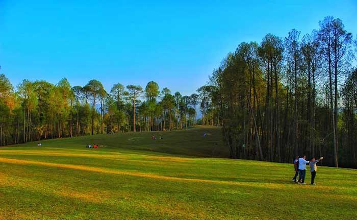 Upat Golf Course  Places to Visit in Ranikhet