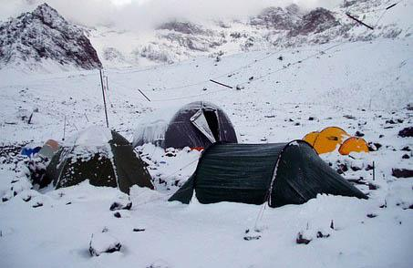 Base camp Har Ki Dun Trek