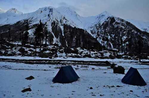 Har Ki Dun Trekking camp