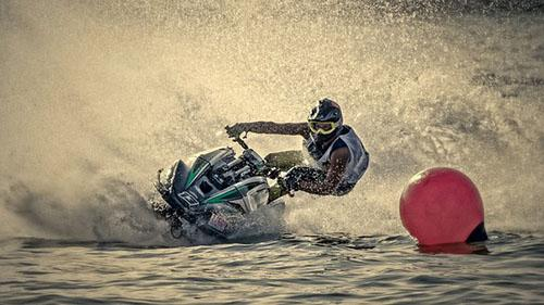 Jet Ski Water Sports in Lakshadweep