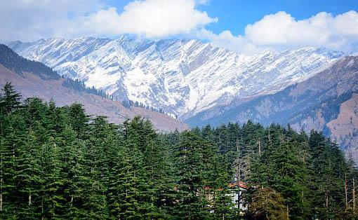 Manali  Best Snow Places in India