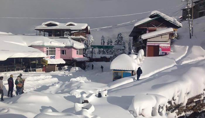 Narkanda Best Snow Places in India