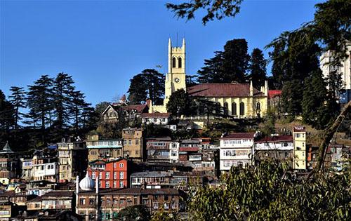 Shimla  Best Snow Places in India