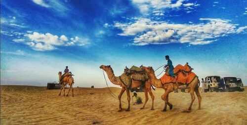 Traveler's Camp Safari Jaisalmer