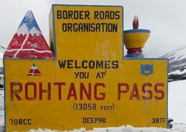 rohtang pass Best Snow Places in India