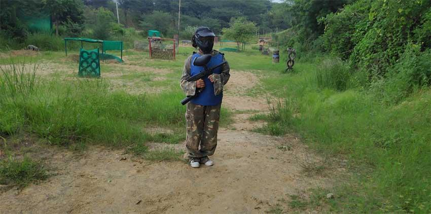 Paint Ball  Tao Experience