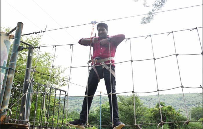 Low Rope Course Tao Experience