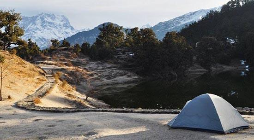 Chopta Chandrashila Trekking camp
