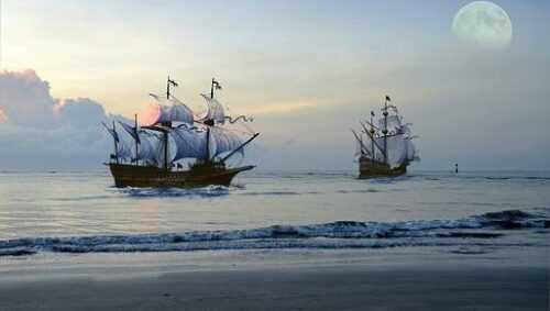 The Time Bandits Pirate Ship