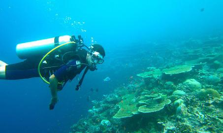Lakshadweep Islands Scuba Diving in India