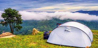 Tents in Chopta