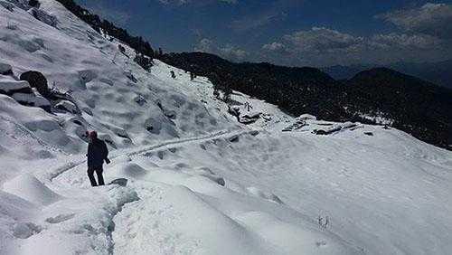 winter to Visit Chopta Tungnath