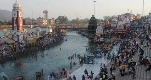Haridwar Ghat near Auli