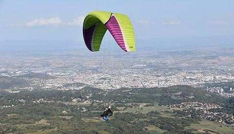 Rishikesh paragliding