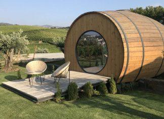Wine Barrel Accommodations