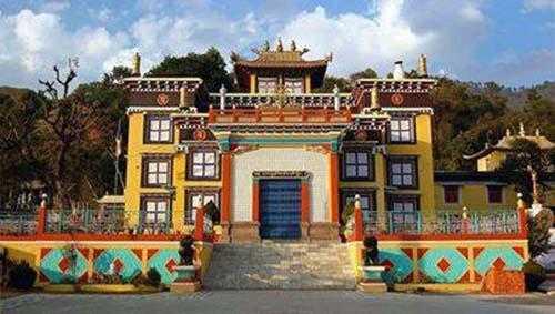 Tashi Jong Monastery palampur