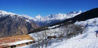 Visit Auli this Winter
