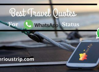 Travel Quotes for Whatsapp Status