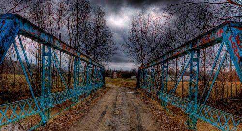 Fudge Road Bridge, Gratis, Ohio