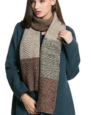 Winter Thick Cable Warm Scarf