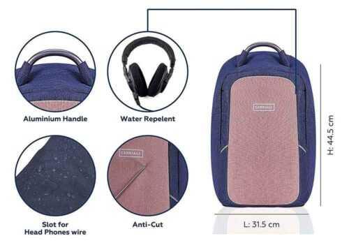 Carryall Columbus Smart Travel Bag