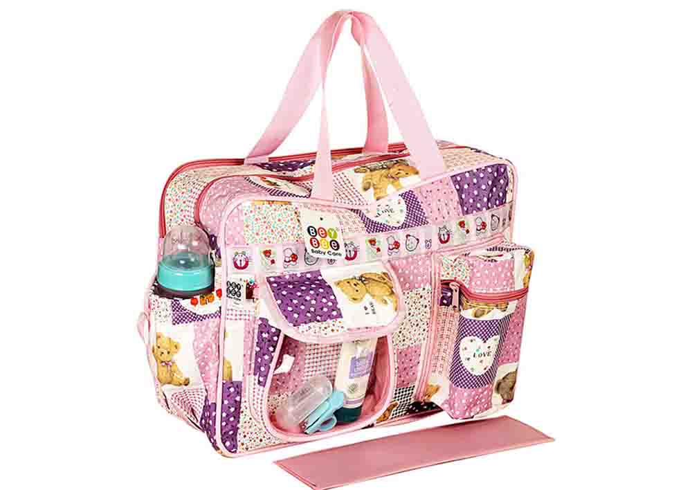 Cloth and Toy Holder Bag for Travel with Baby