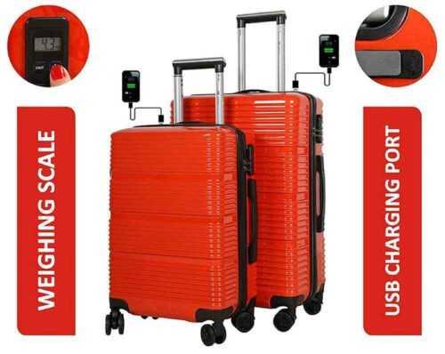 Smart 4 Wheel Trolley Travel Bag