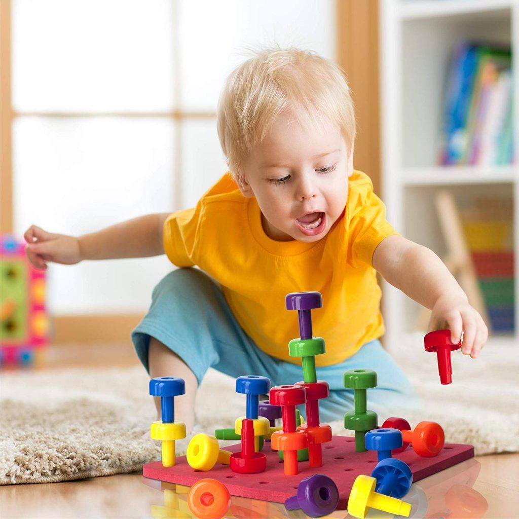 Peg Board Set Toy