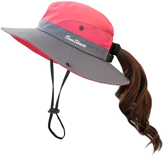 Red Hiking Hat