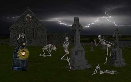 poveglia island ghost images